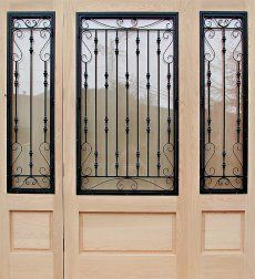Wrought Iron Door Grill Design With Images Grill Design