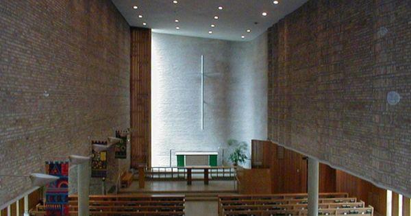 Christ Church Lutheran In Minneapolis Modern Architecture Scandinavian Design House