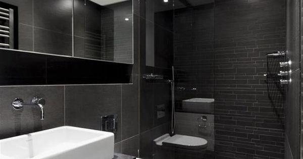 101 Photos De Salle De Bains Moderne Qui Vous Inspireront Vasque Rectangulaire Sol Gris Et