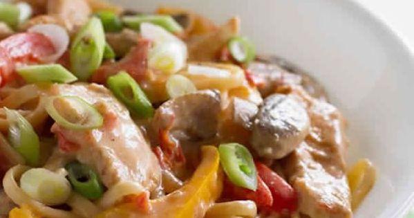 Cajun Chicken Pasta on the Lighter Side. 1 12 cups 8 SP | WW Chicken ...