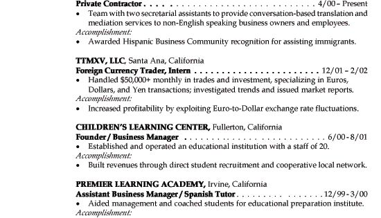 Resume Examples: Job Resume Examples Pamela's Resume Has Almost Everything I Want To See I Like