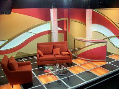 Sets and designs for a host less  history based tv web show. 17 Best images about Advanced Interior Design   TV Studio Project