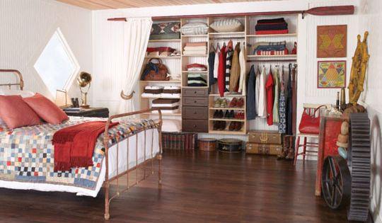 Pros And Cons Of Custom Closets Rustic Bedroom Home Closet Bedroom