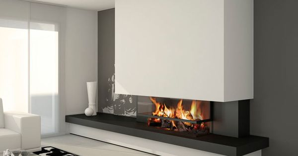 Chimenea oxford moderna detalles pinterest moderno - Chimeneas para pisos ...