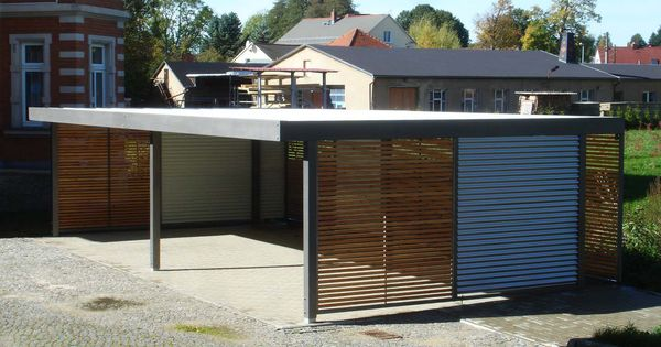 design metall carport aus holz blech stahl dresden deutschland stahlzart metallcarport. Black Bedroom Furniture Sets. Home Design Ideas