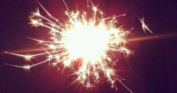 Sparklers on Pinterest