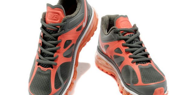 Womens Nike Air Max 2012 Cool Grey Mango Style Code:487679