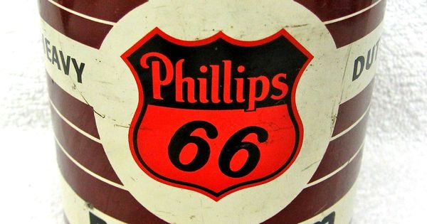 Phillips 66 Heavy Duty Premium Motor Oil Colector