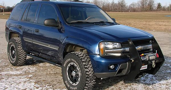 Chevy Trailblazer Need To Get A Grill Guard Soon Chevy