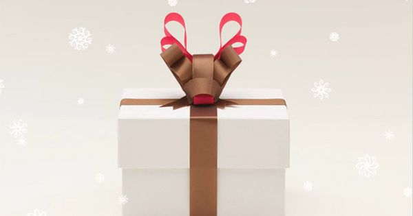 Christmas gift wrapping ideas Rudolph