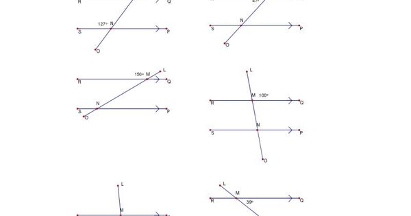 Missing Angles Worksheet Answers further Finding Missing Angles ...