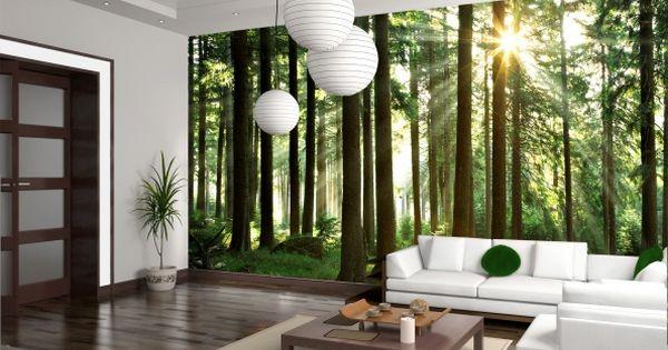 Foto murales naturaleza tendencia 2016 decoraci n de for Decoracion de murallas interiores
