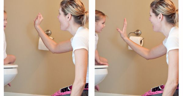 How to Potty Train in One Day, this mom has some great