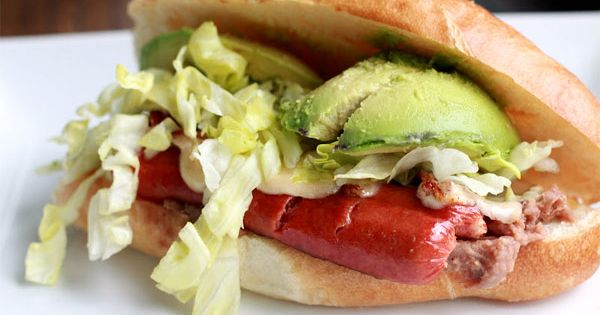 Mexican Torta Hot Dogs