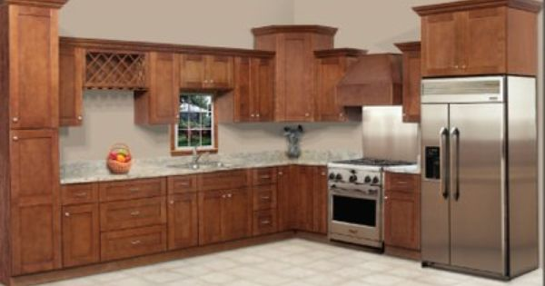 This is our new rta kitchen cabinet line sienna shaker for Autumn shaker kitchen cabinets