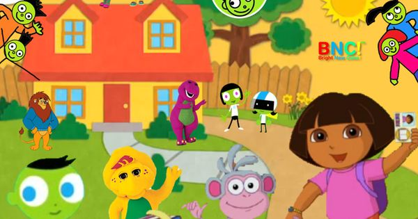 Welcome To Dots House PBS Kids Bright New Color PBS Kids