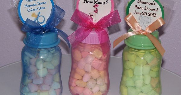 Baby Shower Favors You Make Yourself ~ Baby shower favors to make yourself bottle gifts