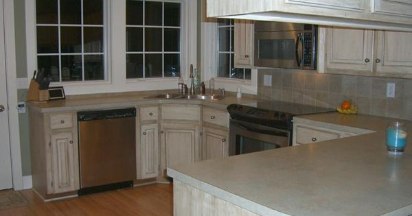 Oak Cabinets with a New Face - Glazed Cabinets are Beautiful