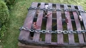 Image Result For Halloween Props Made From Pallets In Ground Cage