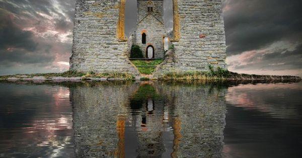 Castle Ruins, Loch Ard, Scotland