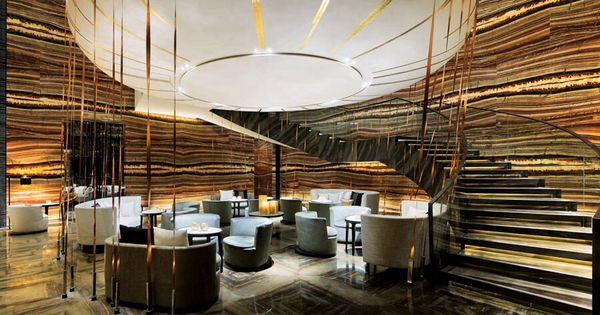 Guangzhou w hotel interiors public areas