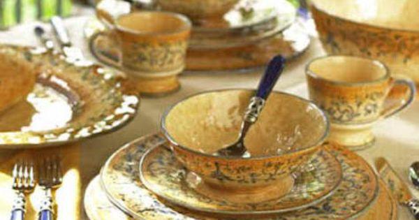 Italian Dinnerware Sets Rustic Italian Dinnerware Love This