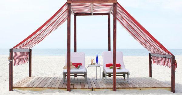 Beach Cabana At The Virginia Hotel Cape May Nj Cape