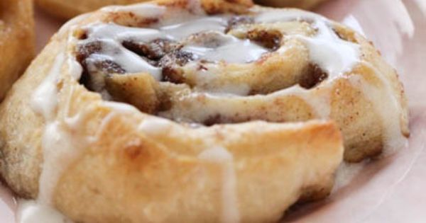 Roasted Banana Cinnamon Rolls Recipe — Dishmaps