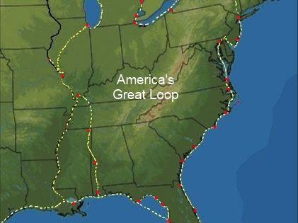 Capt John S Cruising America S Great Loop All Waterways