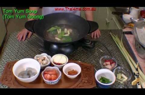 Tom Yum Soup - YouTube | sea food | Pinterest | Tom Yum Soup, Toms and ...