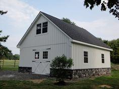 2 Story Pole Barn 24 X 24 Google Search Barn Garage Pole Barn