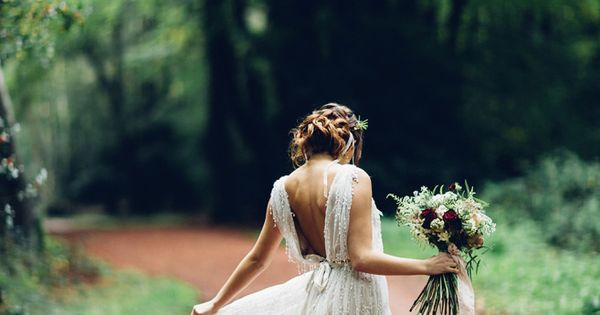 A Beautiful and Whimsical Woodland Elopement | Love My Dress® UK Wedding