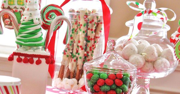 Sweet Treats - candy bar for Christmas- cute!!!