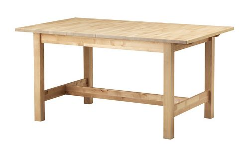 Ikea norden table extensible table manger extensible avec 1 rabat suppl mentaire - Ikea table a manger extensible ...