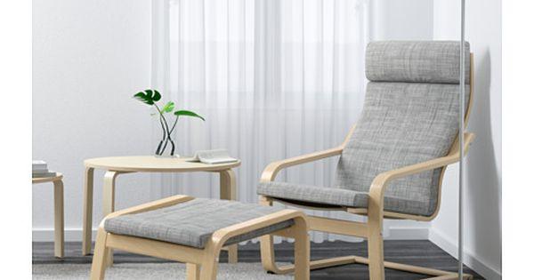po ng armchair birch veneer finnsta gray birch. Black Bedroom Furniture Sets. Home Design Ideas