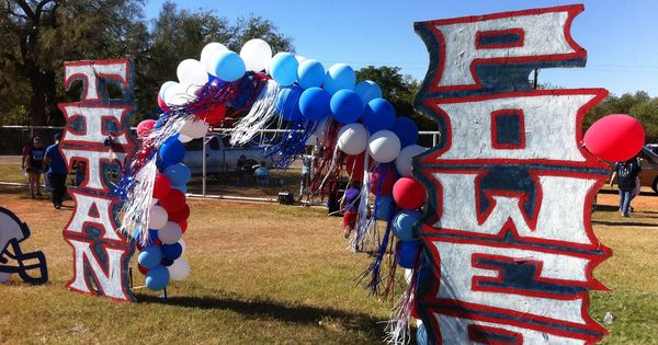 Peewee Football Homecoming Decorations Party Ideas Pinterest Homecoming