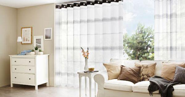 gardinen für große fenster | wohnzimmer | pinterest - Grose Fenster Wohnzimmer