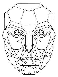 Grace Kelly The Woman With The Golden Ratio Face Periodo Geometrico Abstracto Geometrico Cuerpo Humano Dibujo