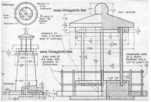 Architecture Construction Documents For A Light House Lamp Complete Plans Specifications See B Lighthouse Woodworking Plans Lighthouse Lamp Wood Lighthouse