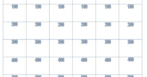 Classroom Jeopardy Classroom Substitute Teaching School Kids Crafts