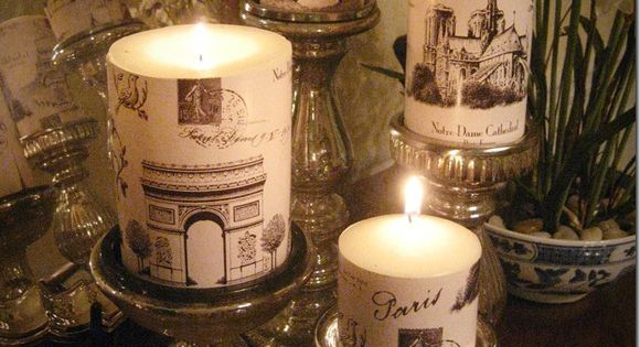 Paris candles