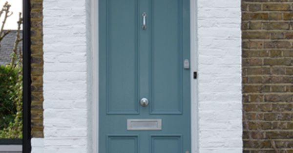 Dusty Teal What Color Should I Paint My Front Door