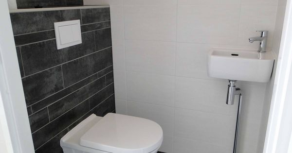 Wandtegels toilet google zoeken toilet pinterest toilet decoration and room - Deco wc zwart ...