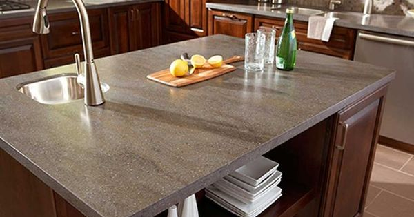 This Is Our Corian Lava Rock Countertops They Cost Us