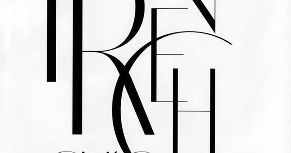 """French Chic"" Harper's Bazaar Russia, March 2010 photographer: Marcin Tyszka Typography! ru_glamour:"