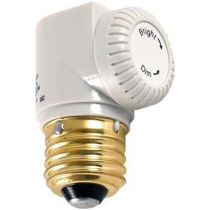 Ge Indoor Light Socket Dimmer White 55431 The Home Depot Indoor Lighting Lamp Socket Indoor Lamp