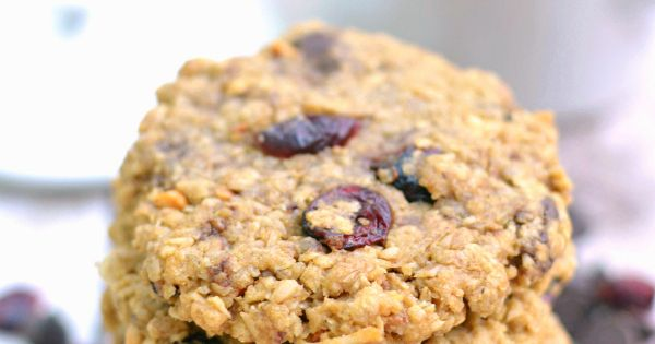 Chocolate Cranberry Coconut Monster Cookies | Recipe ...