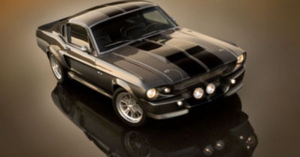 "My dream car: 1967 Shelby Mustang GT 500 ""Eleanor""."
