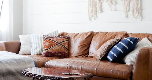 25 Brown Sofas That Don T Make Us Feel Sad Us Boho And Leather