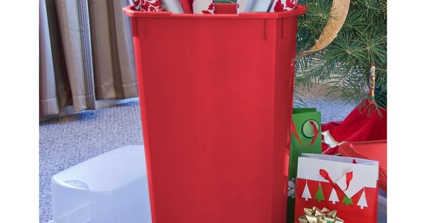 The vertical wrap box will keep all your holiday wrapping for Vertical gift wrap storage